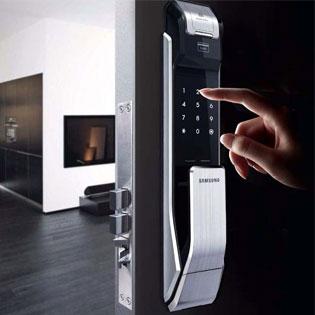Биометрический-замок дверная-линя