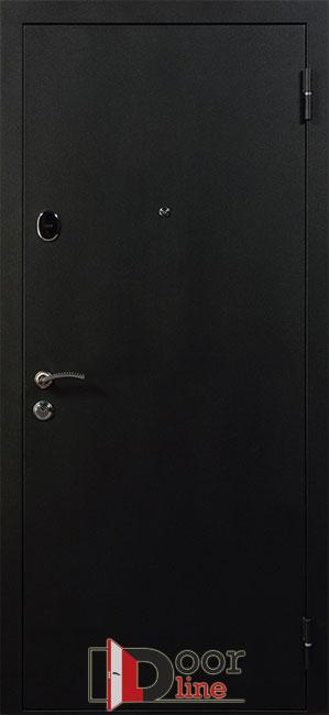 Стальная черная дверь