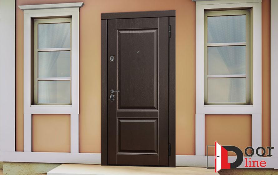 Входная дверь Лион в интерьере