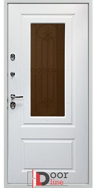 Оксфорд белая входная дверь