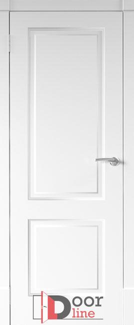 финская дверь эмаль белая ПГ