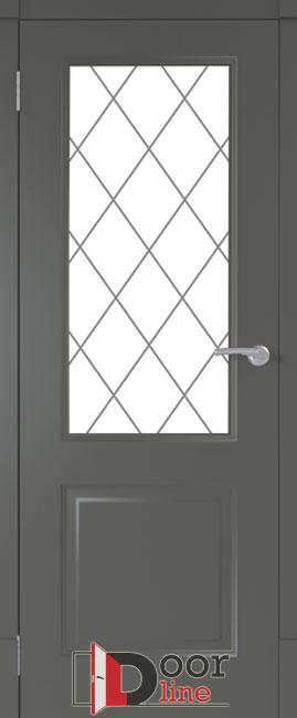 финские двери-черный-по